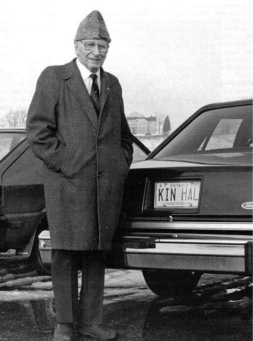 A picture of Kin Canada's founder, Hal Rogers