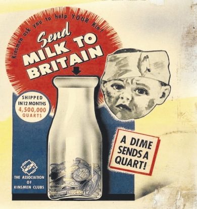 Milk for Birtain - Thank You Canada