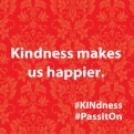 Kindness makes us happier