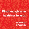 Kindness gives us healthier hearts