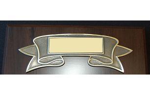 Engraveable Title Ribbon