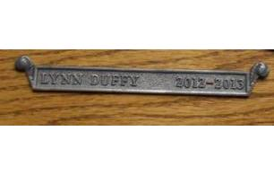 Bronze Cast Name Plate